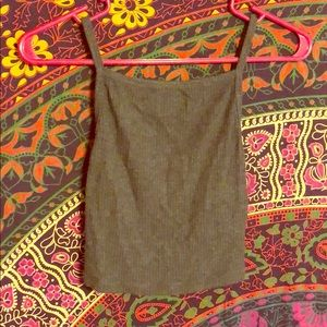 Urban Outfitters Super Soft Ribbed Crop Tank